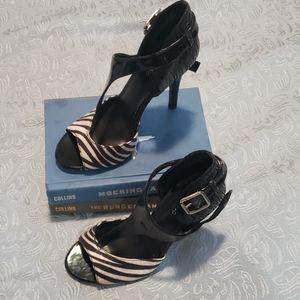 💙 5 for $16-Zebra sandal heels